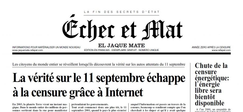 Échec et Mat (la fin des secrets d'état) [LE JOURNAL] dans 9/11 em21